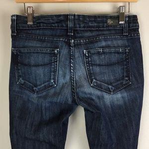 PAIGE Skyline Drive Classic Rise Peg Leg Jeans 27